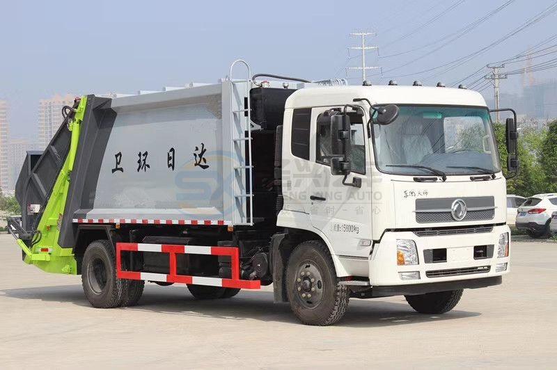 14方东风天锦压缩垃圾车