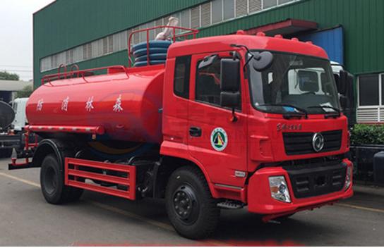 东风专底12吨消防洒水车