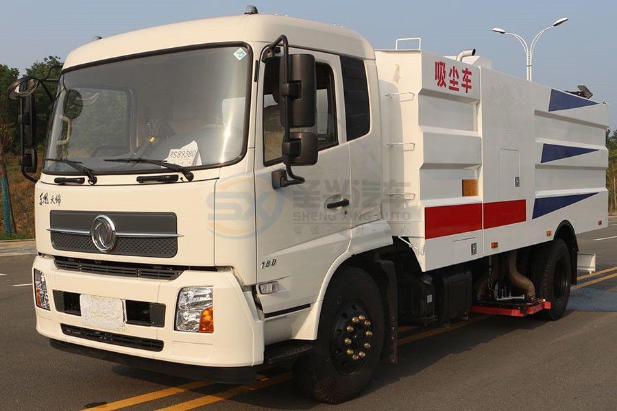东风天锦8吨吸尘车