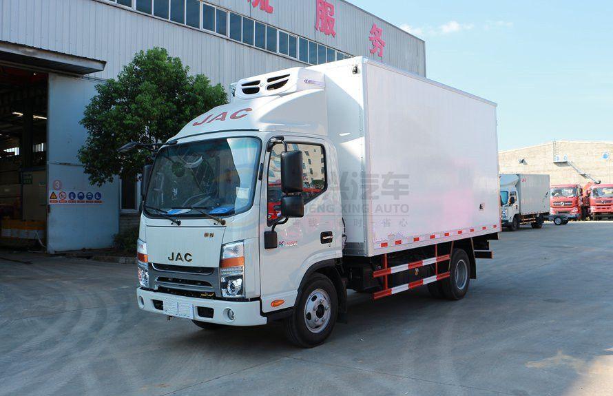 江淮帅铃4.2米小型冷藏车