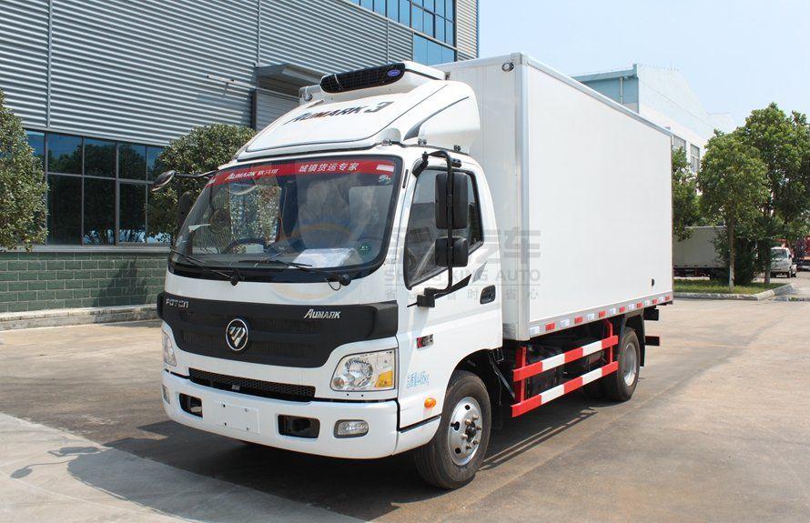 福田欧马可4.2米小型冷藏车
