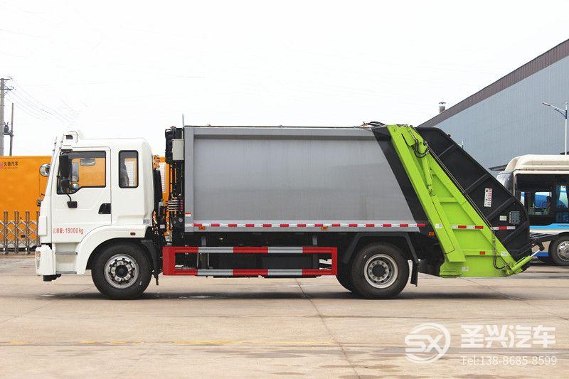 东风锦程12方后装压缩式垃圾车