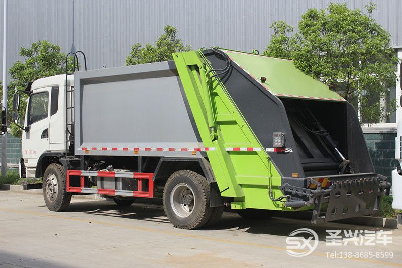 大运风度后装压缩式垃圾车12立方