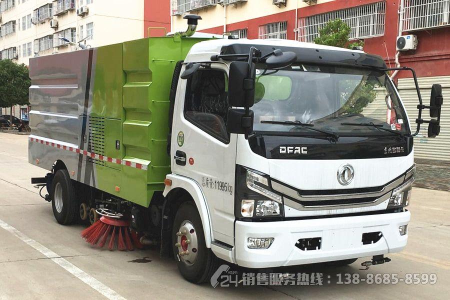 国六-东风多利卡5+5洗扫车