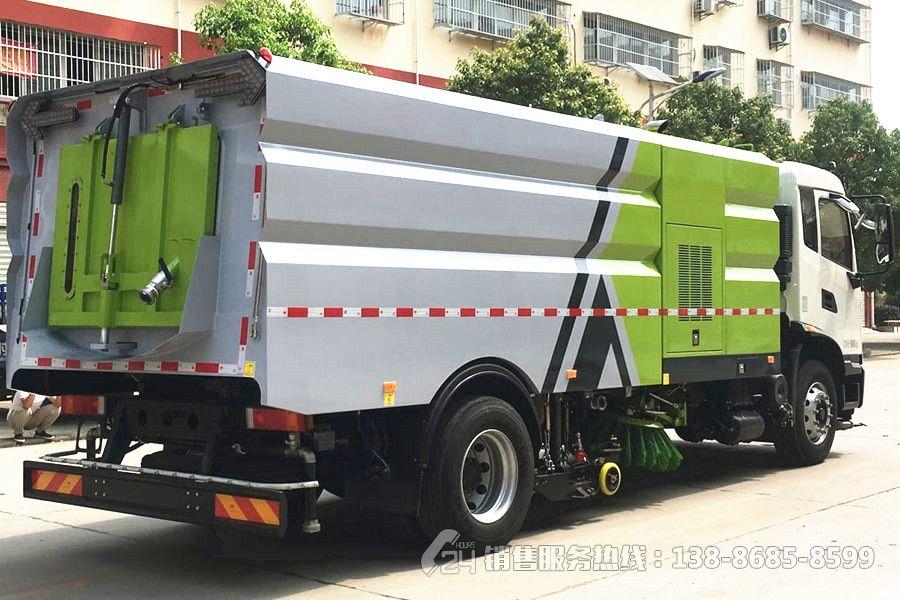 国六-东风天锦9+7方洗扫车