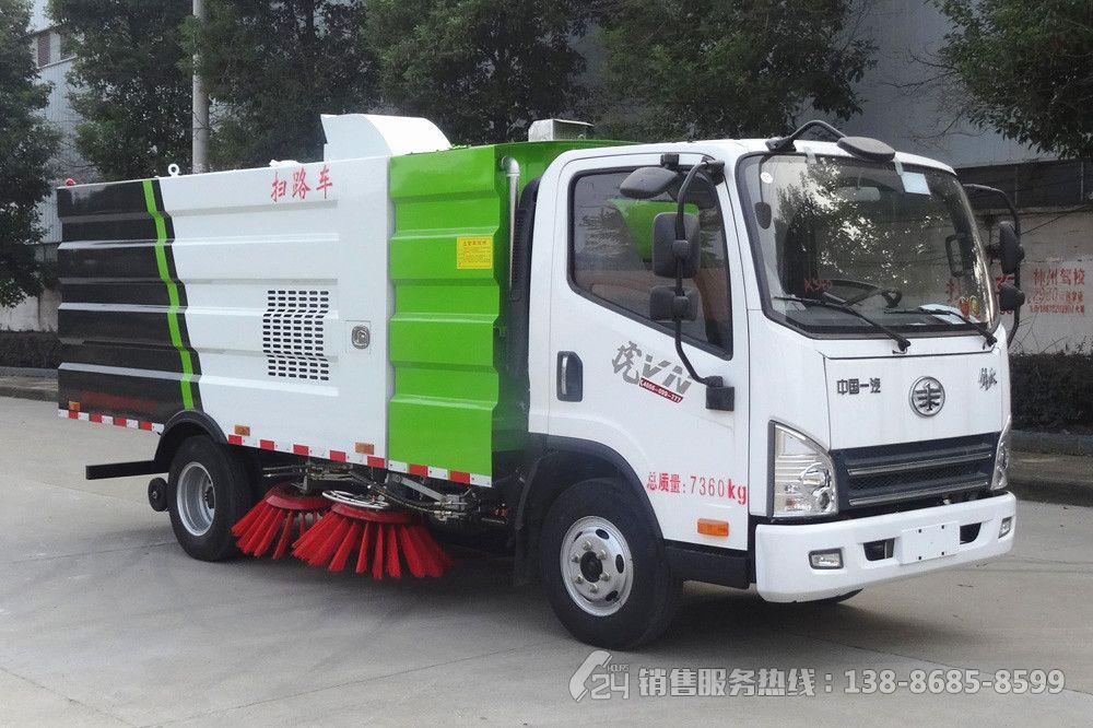 解放虎VN5吨扫路车