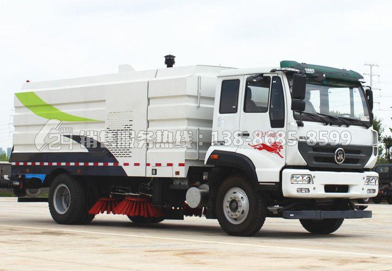 重汽斯太尔16吨扫路车