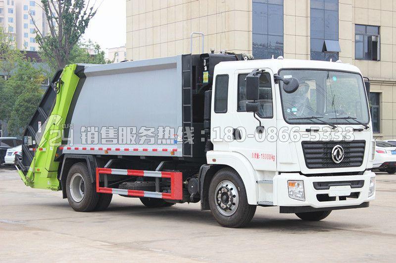 东风锦程12立方后装压缩式垃圾车