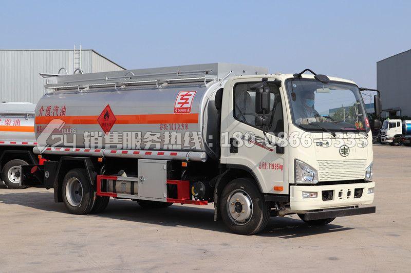 解放J6F加油车-10立方