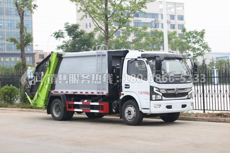 国六东风K7凯普特8方压缩式垃圾车