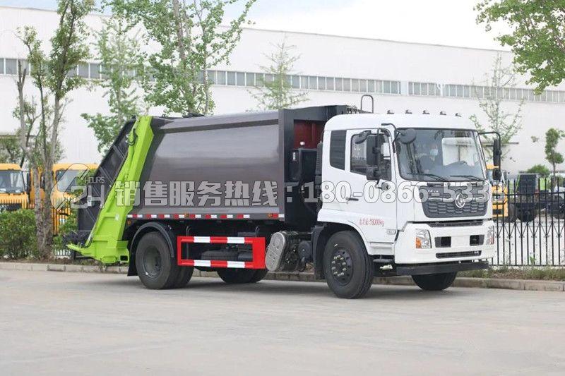 国六东风天锦12-14方后装压缩垃圾车