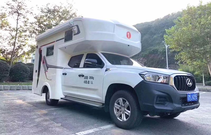 上汽大通T60柴油2.8T单排房车