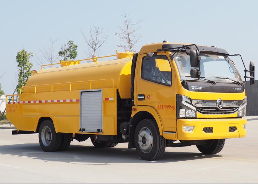 国六-东风大多利卡高压清洗车2.8+6方