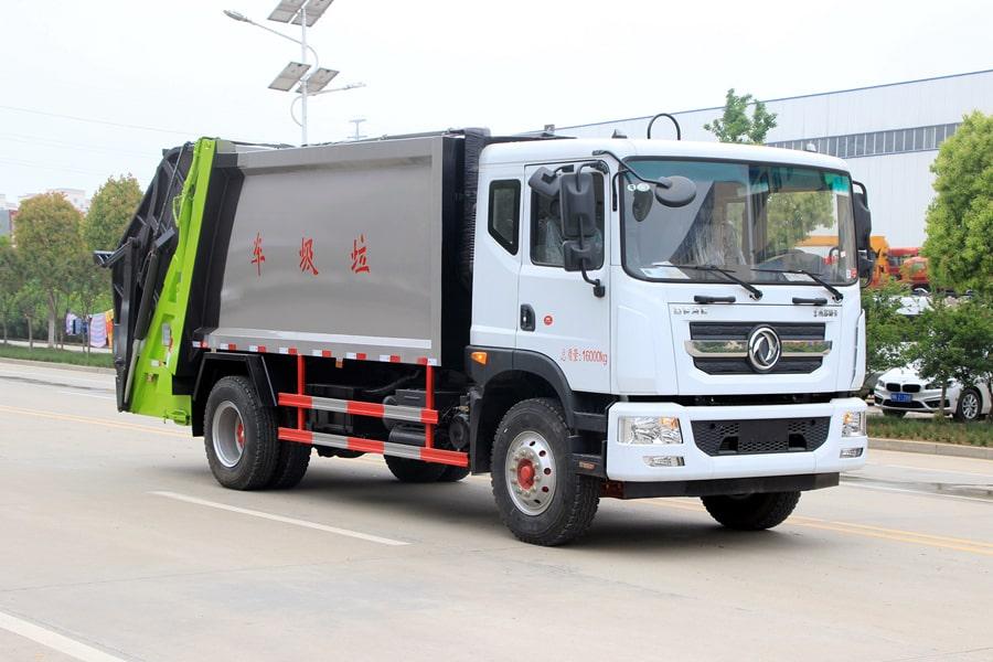 国六东风D9后装压缩式垃圾车