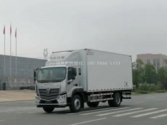 福田欧马可S5冷藏车,怎么变鸡苗雏禽运输车?