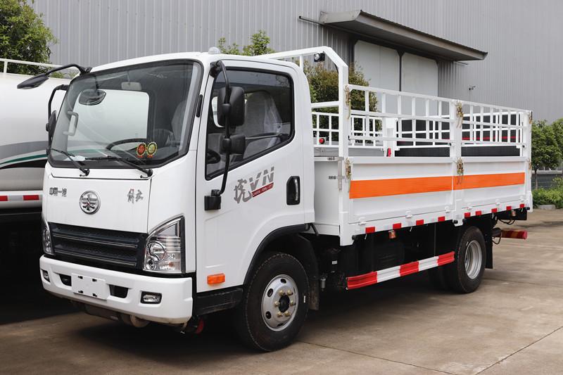 解放虎V气瓶运输车4.2米