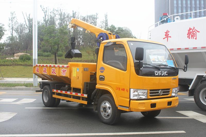 东风多利卡D6清淤车