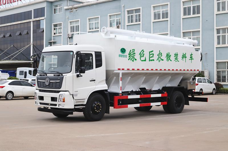 东风天锦散装饲料车22方-液压