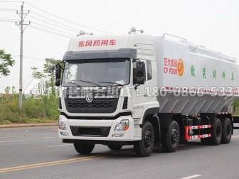 东风天龙VR前四后八散装饲料运输车最大能做多少方